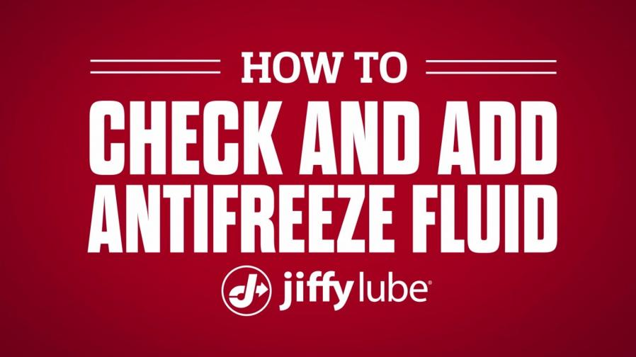 How to check and add antifreeze