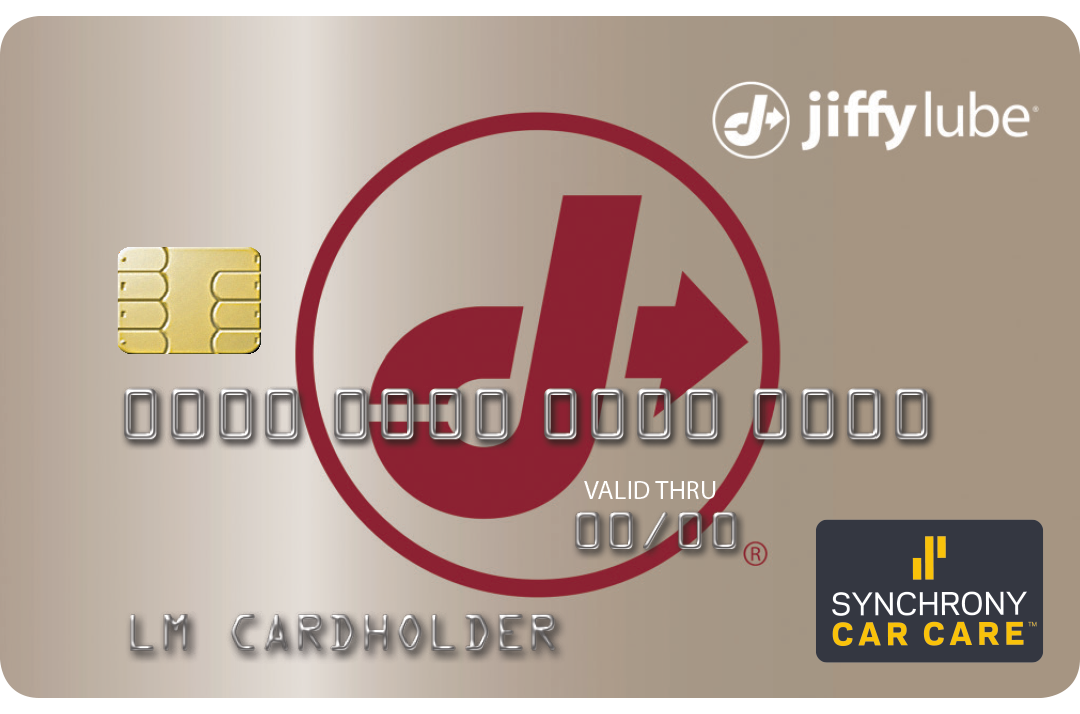 Jiffy Lube Credit Card
